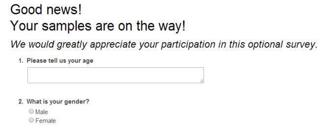 kotex survey