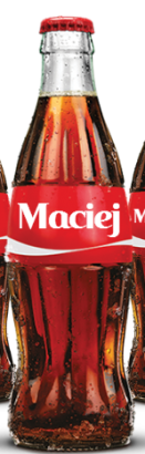 Share a Coke with Maciej