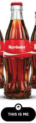 Share a Coke with Ravinder