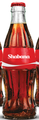 Share a Coke with Shabana