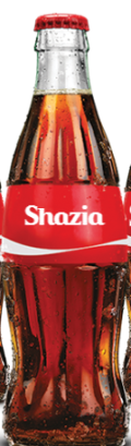 Share a Coke with Shazia